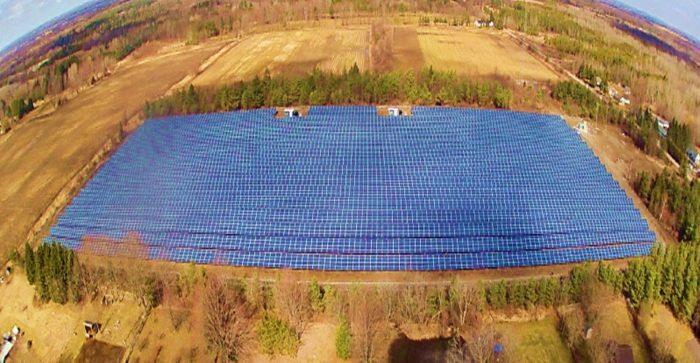 Solar ground mount racking system