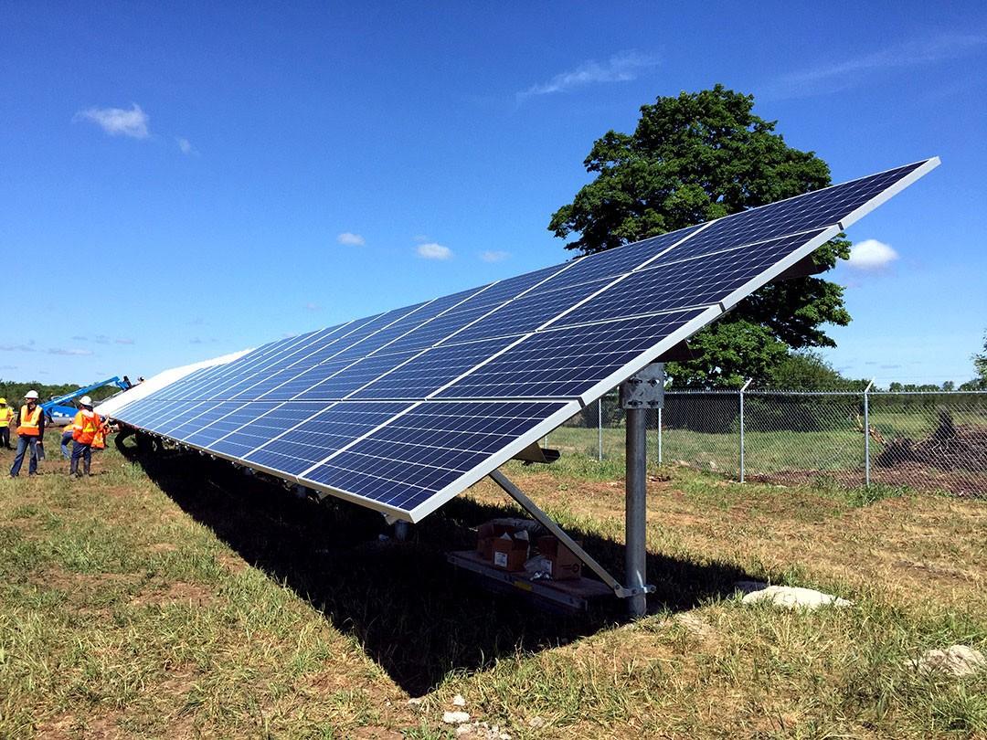 Polar Racking's Solar Ground Mount Systems