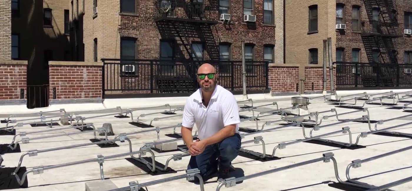 Polar Racking Brings Solar to Manhattan Apartment Building