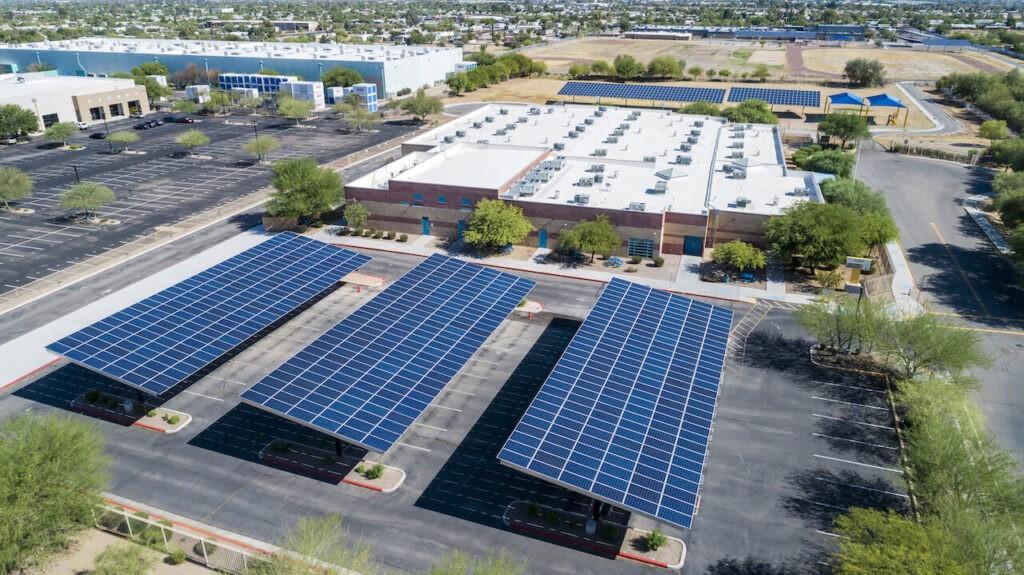 solar parking parking lots